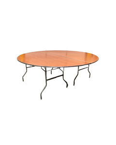 """84"""" Round Table (2 Pieces)"""