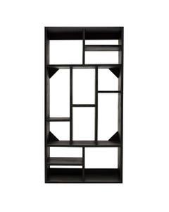 Black Metro Bookcase
