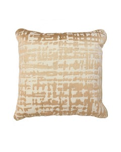 """Taupe Ember Pillow 18"""" x 18"""""""