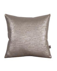 """Pewter Glam Pillow 16"""" x 16"""""""