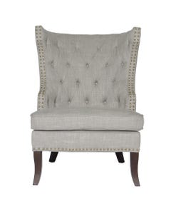 Smoke Grammercy Club Chair