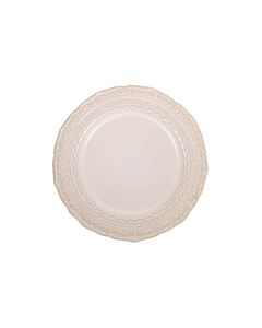 Sienna Lace Salad Plate