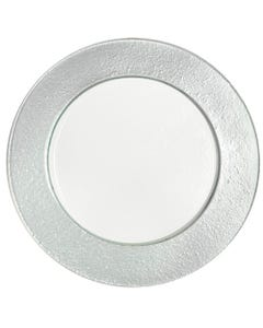 Silver Halo Charger