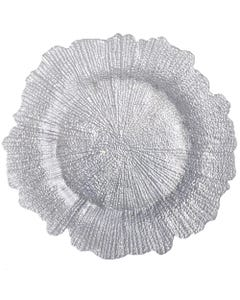 Silver Sponge Charger