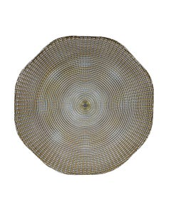 Gold Eternity Passing Plate