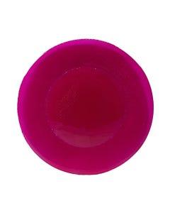 Rasberry Inca Glass Passing Plate