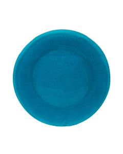 Sky Blue Inca Glass Passing Plate