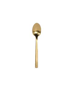 Arezzo Brushed Gold Demitasse Spoon
