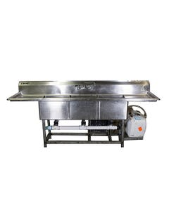 Stainless Triple Hot/Cold Sink