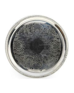 """18"""" Round Gadroon Tray"""