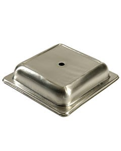 Square Stainless Plate Cover