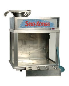 Sno Kone Machine with Resale Products
