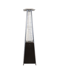 Flame Patio Heater Hammered Bronze
