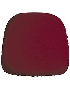 Burgundy Chair Pad Cover