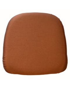 Copper Nova Solid Chair Pad Cover