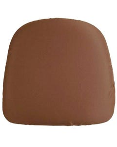 Brown Chair Pad Cover