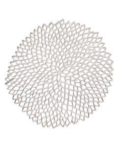Silver Dahlia Placemat