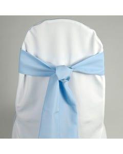 Light Blue Chair Sash