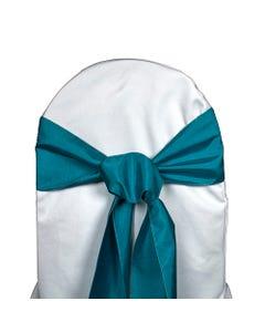 Bermuda Blue Nova Solid Chair Sash
