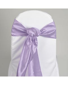 Lavender Nova Solid Chair Sash