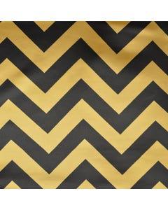 Black/Gold Chevron Satin