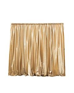 Gold Omni Sequins Drape