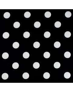White Polka Dot