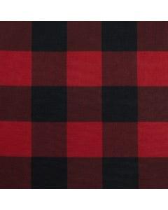 Red/Black Buffalo Check Runner