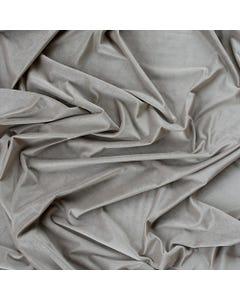 Taupe Velvet Drape