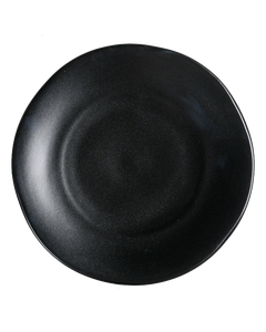 Matte Black Bread and Butter Plate
