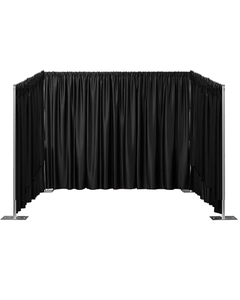 Booth Side to Side Starter Kit 8' High Side Walls